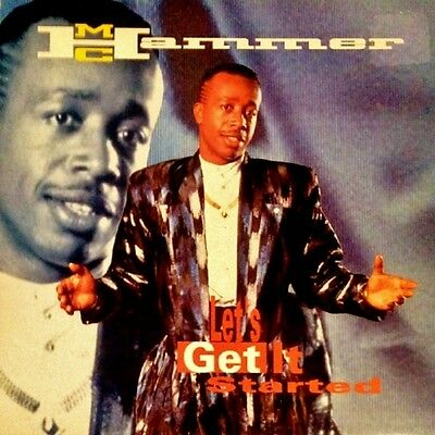 "Mc Hammer - Let's Get It Started - Lp Vinyl 12"" Album - Eu Org '91"