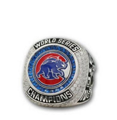 2016 Chicago Cubs World Series Championship Rings ZOBRIST
