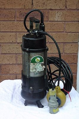JS Pump JS-650SV Submersible Sewage Pump  110V