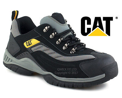 New Mens Caterpillar Ultra Light Weight Work Safety Steel Toe Cap Trainers Shoes