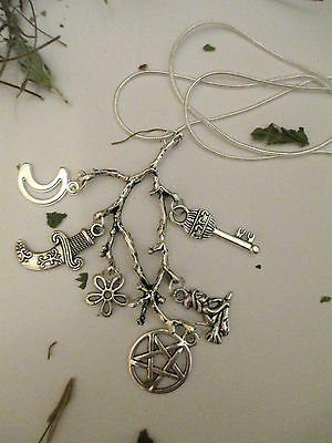 Cimaruta Necklace Witch Wicca Pagan Amulet.protection From Bad Spirit/ Evil Eye
