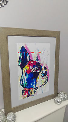 french bulldog digital art print/ picture/poster a3