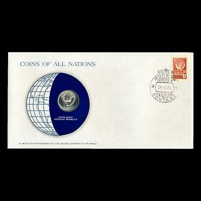 Union Soviet Socialist Republics 1978 20 Kopec Fdc ─ Coins Of All Nations Cover
