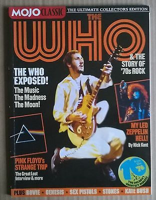 THE WHO & The Story Of 70's Rock. MOJO CLASSIC Magazine.  English. 2006. VG COND