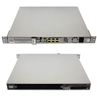 Cisco ASA 5512-X     2x Security Plus Licence     Firewall Security Appliance