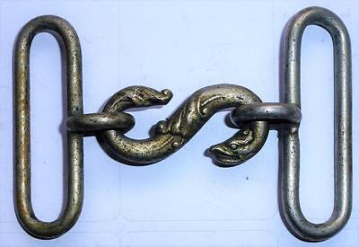 Victorian snake buckle (also used in the 1st World War)