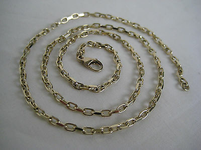 Vintage Heavy 9CT Gold Chain Necklace