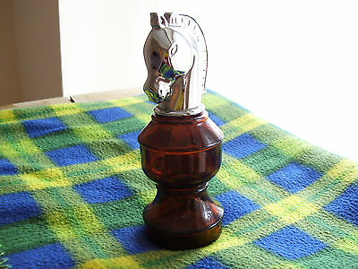 Avon - Aftershave Bottle / Decanter. Chess Piece design. 1960s/1970s.