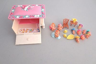 Fairy Winkles Keepsake Pink Cottage Jewelry Playset Fairies Accesssories  Lot Z1
