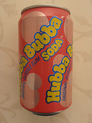 Hubba Bubba Soda Dose  Großbritannien (1990) 0,33l Can UK Great Britain