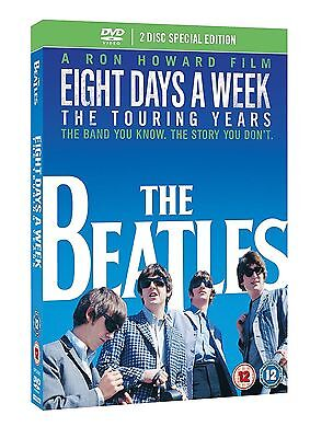 THE BEATLES Eight Days a Week Deluxe Special Edition 2 Disc DVD NEW
