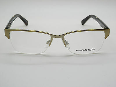 NEW Authentic MICHAEL KORS MK 7002 Maracaibo 1006 Gold 50mm RX Eyeglasses