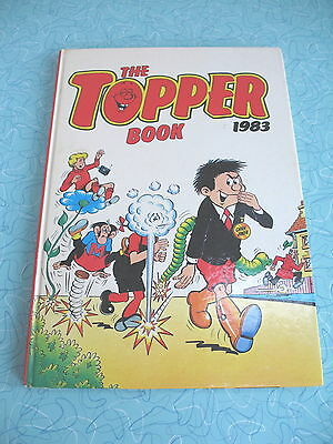 D C Thomson    The Topper Book    1983