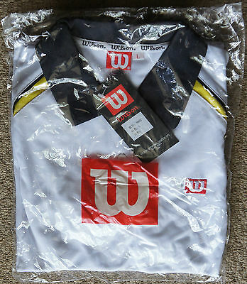 Brand New With Tag Wilson 9802 Ladies Tennis Shirt Great Bargain Bidding from $5