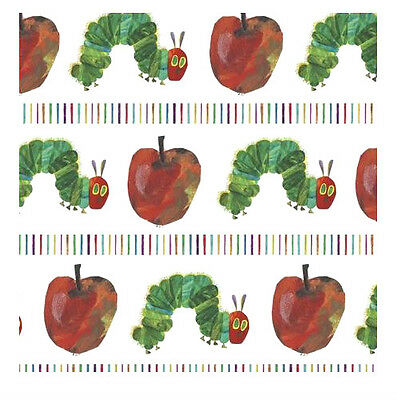 Official THE VERY HUNGRY CATERPILLAR Birthday 1 x Gift Wrapping Sheet 50x70cm