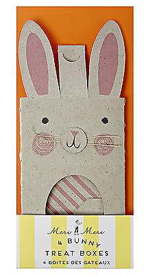 4 x Easter  Bunny Ears Boxes cupcakes Gift box sweets Easter Egg Hunt Cookie Box