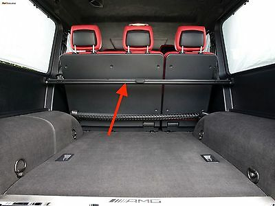 Genuine Mercedes W463 Cargo Cover Rear Retractable Shade Security Curtain Trunk