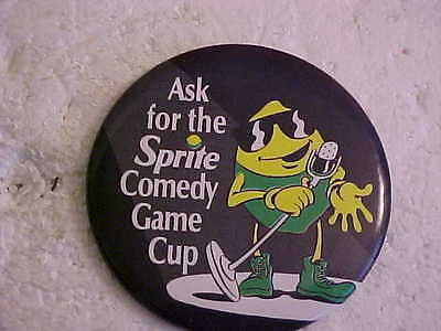 Ask For The Sprite Comedy Game Cup Pinback Button