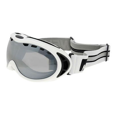 Adult NEVICA Professional ARCTIC SKI GOGGLES White Unisex (Case inc) BRAND NEW