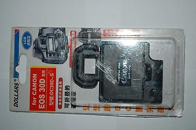 To Fit Canon Eos 30 D LCD Hood and Screen cover For 30-D Only