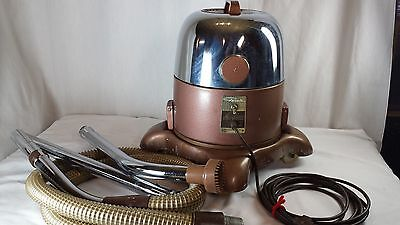 Vintage Rainbow Model D2 Chrome Dome Canister Vacuum Cleaner