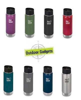 Klean Kanteen Wide 16 oz Insulated Bottle with Cafe Cap 2.0 ( choose your color)