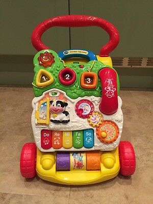 Vtech First Steps Baby Walker - Collection RG4