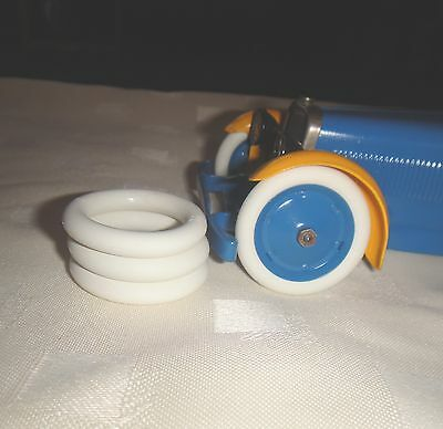 4  Tyres For The Meccano Constructor Car No 1