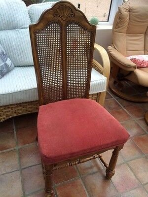 Dining room colonial style chairs x6