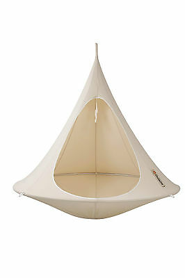 Happy Cacooning Double Hanging Chair Tent White,Green,Orange,Pink,Taupe,Turqoise