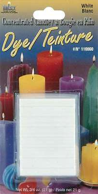 Concentrated Candle Dye 3/4 Ounce Blocks-White 052124100074