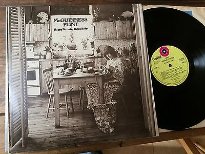 original 1971 vinyl LP McGUINNESS FLINT HAPPY BIRTHDAY RUTHY BABY  ST22794  NM