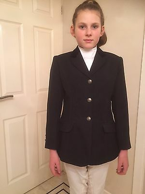 Childs riding jacket black, Dublin, Classic