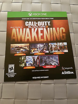 Xbox One Call Of Duty Black Ops 3 Awakening DLC Pack #1 Game  DLC Download Code