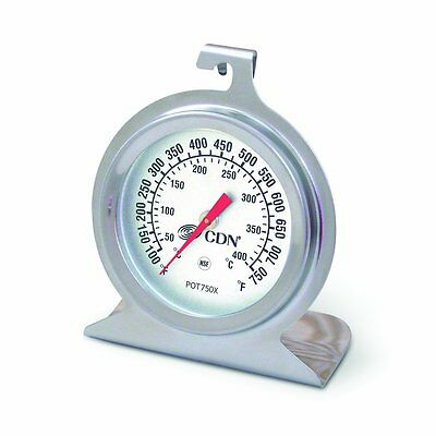 New Oven Thermometer, CDN POT750X, High Heat, Ovenproof, NSF, Free shipping!