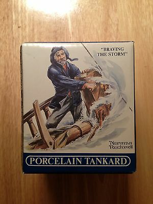 "Norman Rockwell Seafarers Collection ""Brave The Storm"""