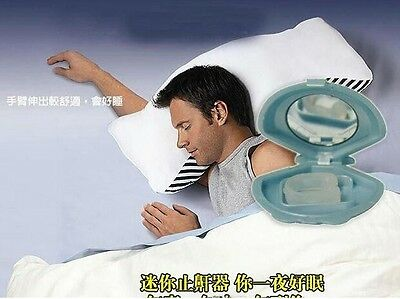 Anti Snoring Nose Clip Snore Stop Sleep Aid