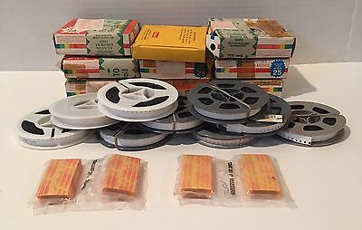 Vintage Lot (9) 8mm Home Movies Reels Films Unsearched 1960's 1970's