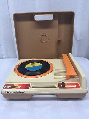 1978 VINTAGE FISHER PRICE RECORD PLAYER Phonograph Working  TESTED