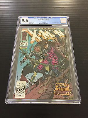 Uncanny X-Men 266 Cgc 9.6 1St Gambit Off White White Pages