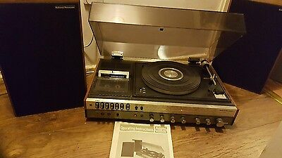 Vintage Panasonic Music Center SG-107 L Record cass radio Excellent condition