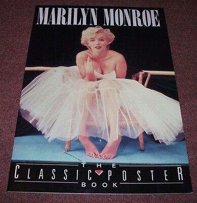 Marilyn Monroe The Classic Poster Book. 6 posters unused as new.