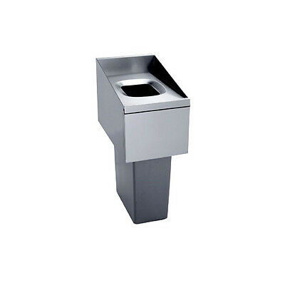 "Krowne Metal KR18-T14L Royal 1800 Series 14""W Underbar Trash Station"