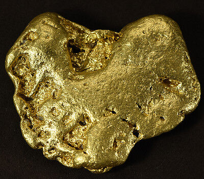 Large Natural Gold Nugget Australian 154.16 Grams, 4.965 Troy Ounces Genuine