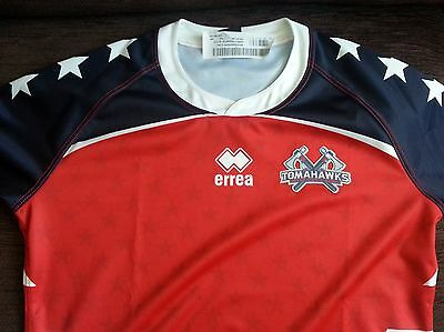 Very Rare USA Rugby League Shirt Signed By 2013 World Cup Squad