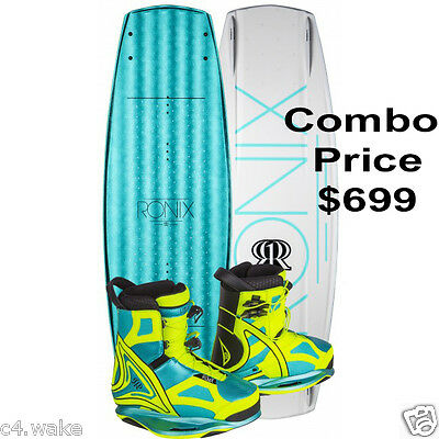 2017 RONIX LIMELIGHT ATR SF WAKEBOARD 136 cm