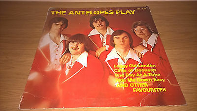 THE ANTELOPES - Play - IRISH SHOWBAND LP RELEASE RECORDS IRELAND