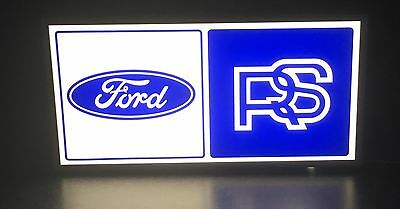 Ford Rs Sign Man Cave Garage