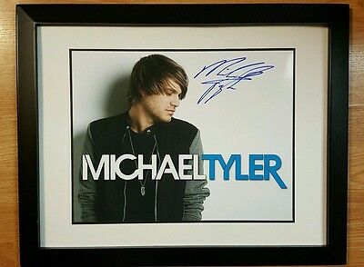 Michael Tyler Autographed 11x14 Hand Signed Photo w COA Framed and Matted