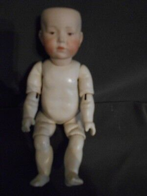 K&R Reproduction, Mold 101, German Composition Toddler Body, Nice Doll
